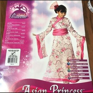 Halloween Costume Asian Princes Dress/Head piece